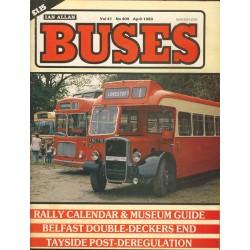 Buses 1989 April