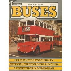 Buses 1989 June