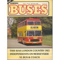 Buses 1989 November