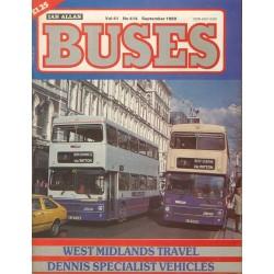 Buses 1989 September