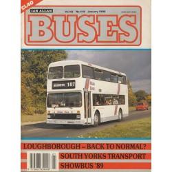Buses 1990 January