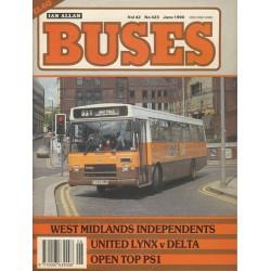 Buses 1990 June