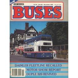 Buses 1990 November