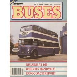 Buses 1991 January