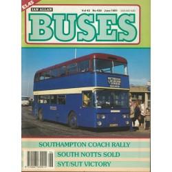 Buses 1991 June