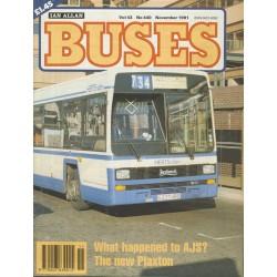 Buses 1991 November