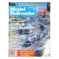 Model Railroader 1996 February