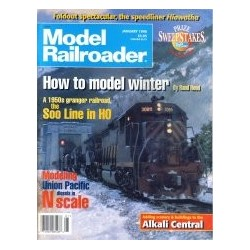 Model Railroader 1996 January