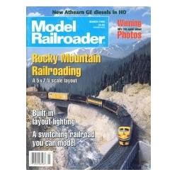 Model Railroader 1996 March