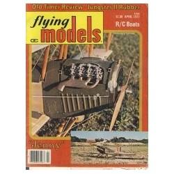 Flying Models 1977 April