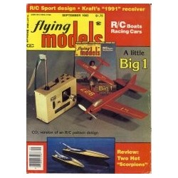 Flying Models 1983 September