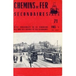 Chemins de Fer Secondaires 1965 May