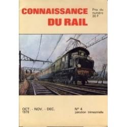 Connaissance Du Rail 1979 Oct/Nov/Dec