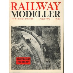 Railway Modeller 1970 August
