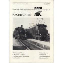 German society for railway history 1990 Sept/Oct