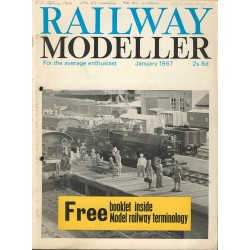 Railway Modeller 1967 January