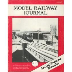 Model Railway Journal 1988 No.27