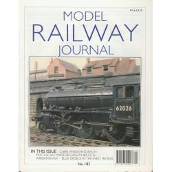Model Railway Journal 2008 No.183