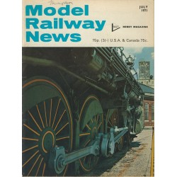 Model Railway News 1971 July