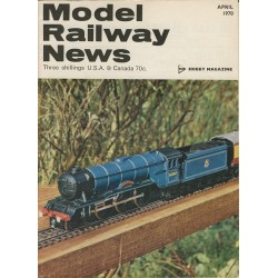Model Railway News 1970 April