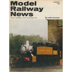 Model Railway News 1970 August