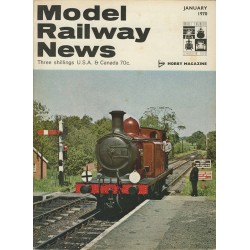 Model Railway News 1970 January