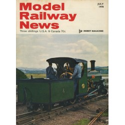 Model Railway News 1970 July