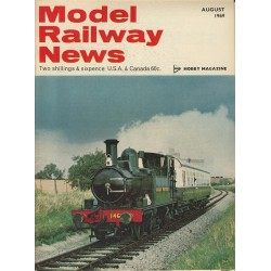 Model Railway News 1969 August