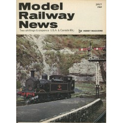 Model Railway News 1969 July