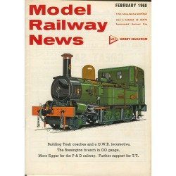 Model Railway News 1968 February