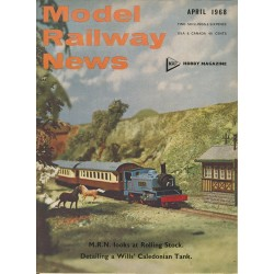 Model Railway News 1968 April