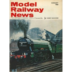Model Railway News 1968 August