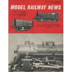 Model Railway News 1965 January