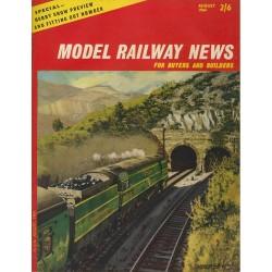 Model Railway News 1964 August