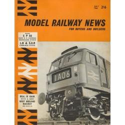 Model Railway News 1964 July