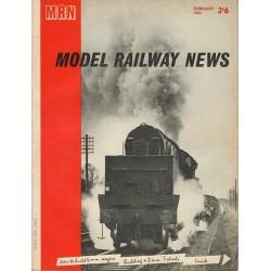 Model Railway News 1964 February