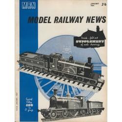 Model Railway News 1964 January