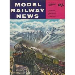 Model Railway News 1963 January