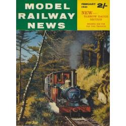 Model Railway News 1963 February