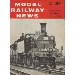 Model Railway News 1963 July