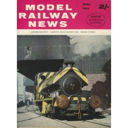 Model Railway News 1962 April