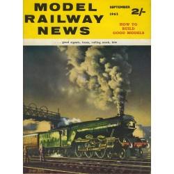 Model Railway News 1962 September