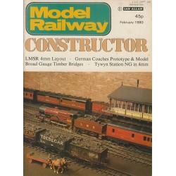 Model Railway Constructor 1980 February