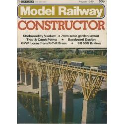 Model Railway Constructor 1980 August