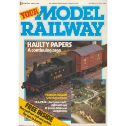Your Model Railway 1985 December
