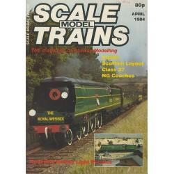 Scale Model Trains 1984 April