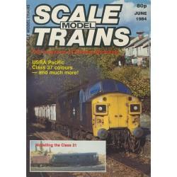 Scale Model Trains 1984 June
