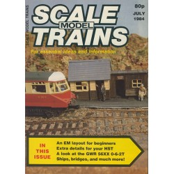 Scale Model Trains 1984 July