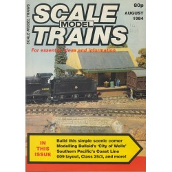 Scale Model Trains 1984 August