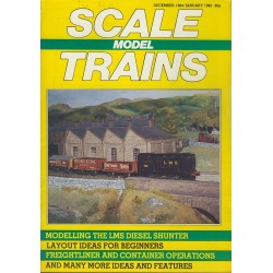 Scale Model Trains 1984 December/1985 January